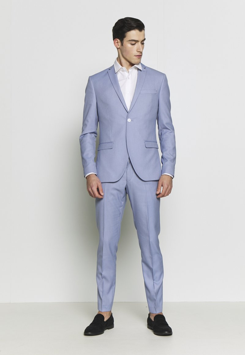Isaac Dewhirst - BIRDSEYE SUIT - Completo - blue