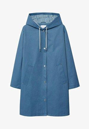 Classic coat - niebieski