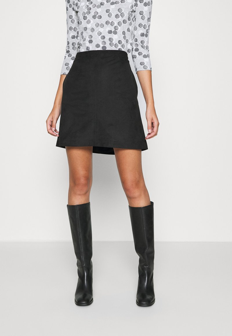 Esprit - A-line skirt - black
