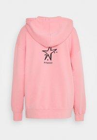 Pinko - CIVICA FELPA - Zip-up hoodie - pink - 1