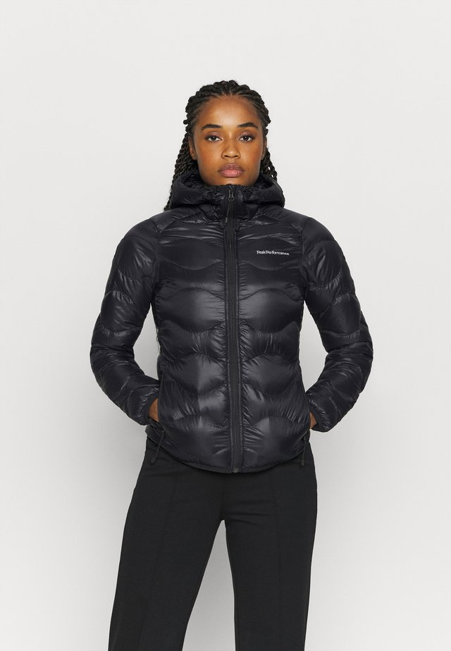HELIUM HOOD JACKET - Down jacket - black
