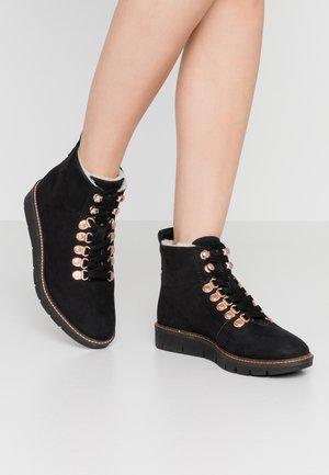 STUDIO HIKER  - Ankle boots - black