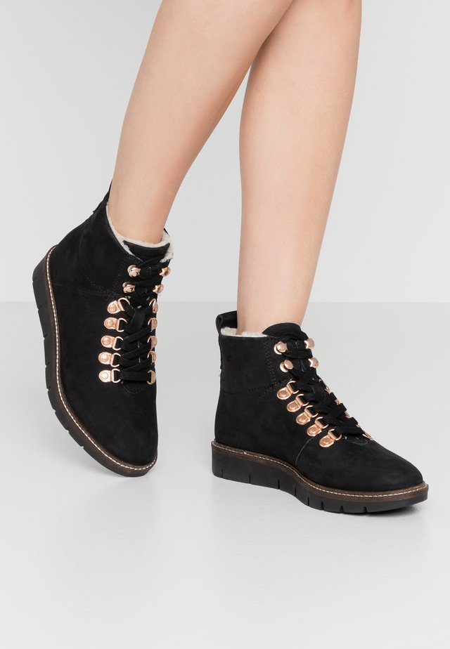 STUDIO HIKER  - Ankle boots - black