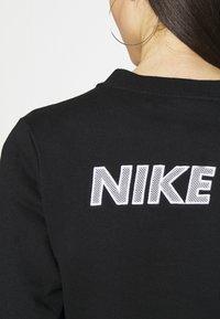 Nike Sportswear - AIR CREW  - Sweatshirt - black/white - 4