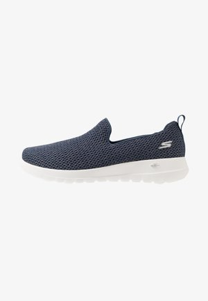 GO WALK JOY - Chaussures de course - navy/gold