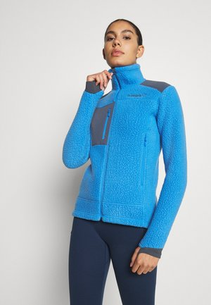TROLLVEGGEN THERMAL PRO JACKET - Fleece jacket - blue