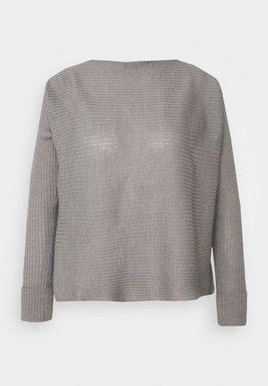 IMMENSO - Strikkegenser - grigio perla