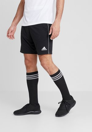 CORE ELEVEN PRIMEGREEN FOOTBALL 1/4 SHORTS - Träningsshorts - black/white