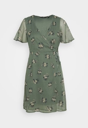 VMKAY WRAP SHORT DRESS - Hverdagskjoler - mint
