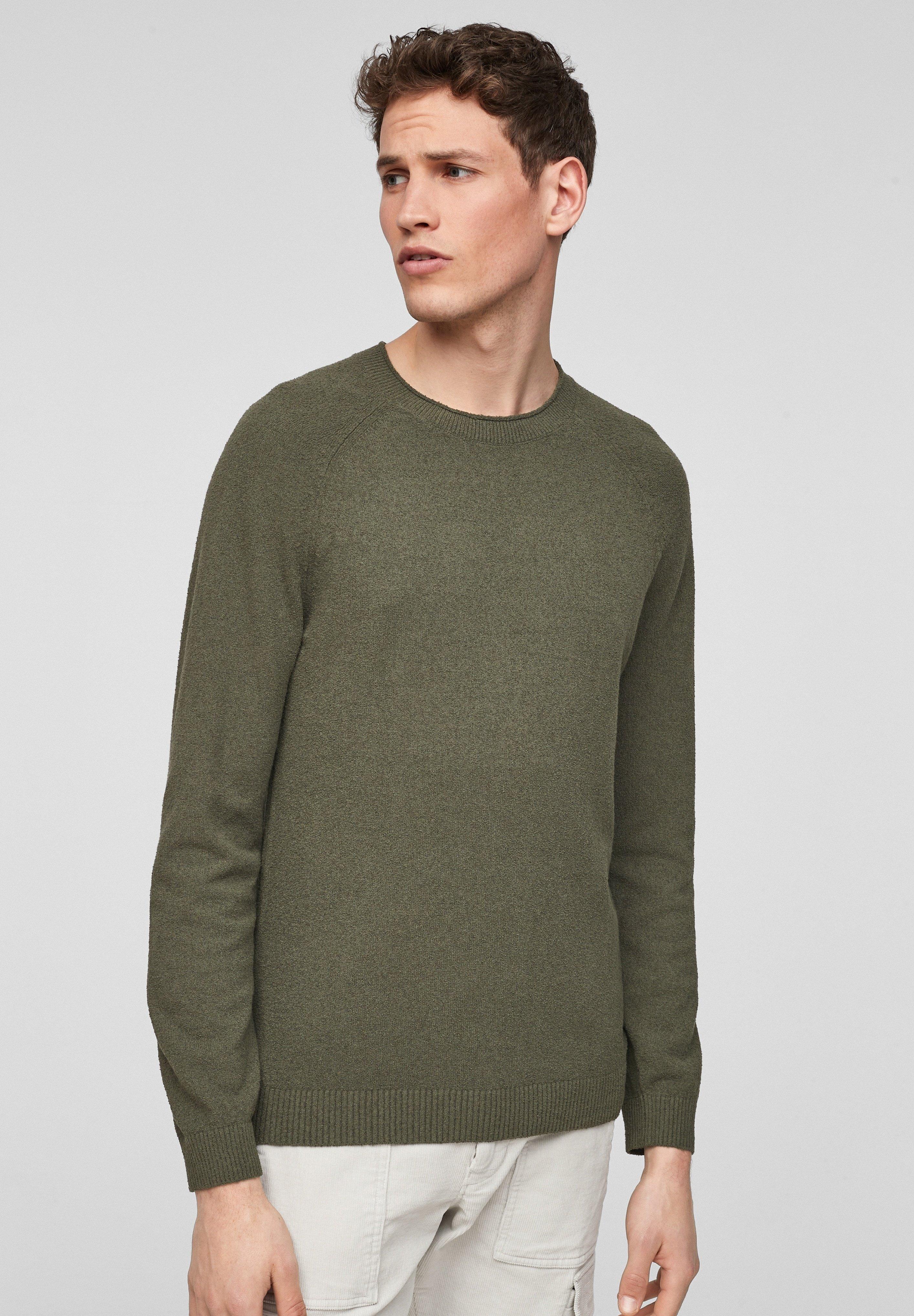 Homme MIT WEBSTRUKTUR - Pullover