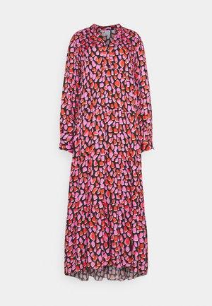 MAXI - Maxi dress - pink/black