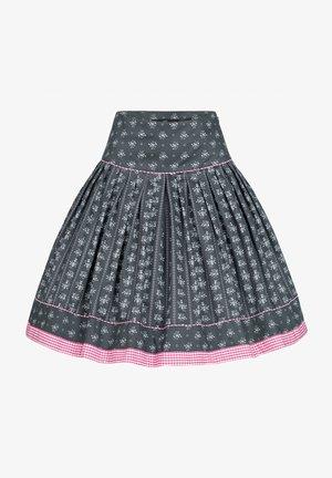 Pleated skirt - anthrazit