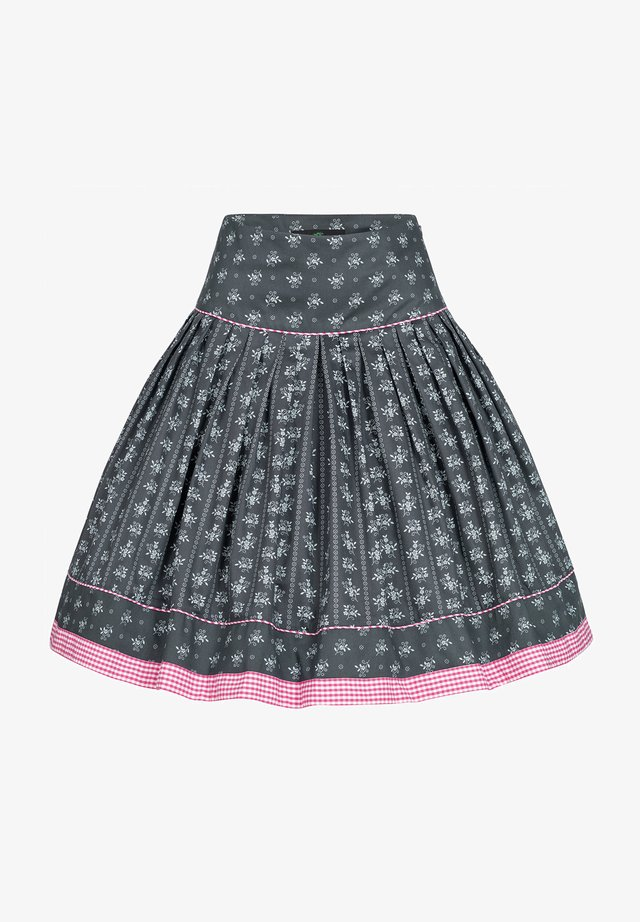 Pleated skirt - anthrazit
