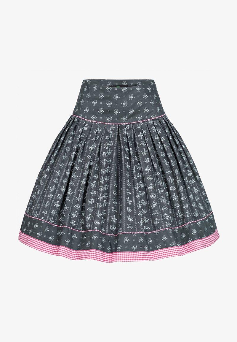 Berwin & Wolff - Pleated skirt - anthrazit