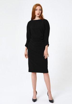FERNANDA - Shift dress - schwarz