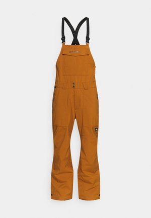 SHRED BIB PANTS - Talvihousut - glazed ginger