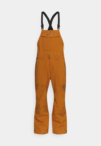 SHRED BIB PANTS - Snow pants - glazed ginger