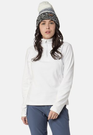 MUTEY - Fleece jumper - white