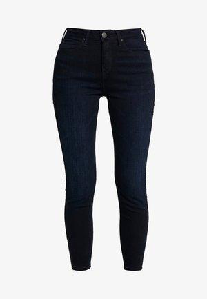 SCARLETT HIGH ZIP - Jeans Skinny Fit - mulberry