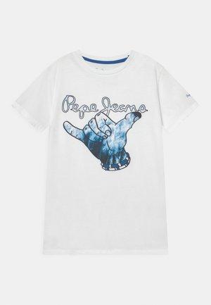 JUDAH - Print T-shirt - optic white