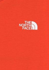 The North Face - EXPLORE UNISEX - Print T-shirt - flare/white/black - 2