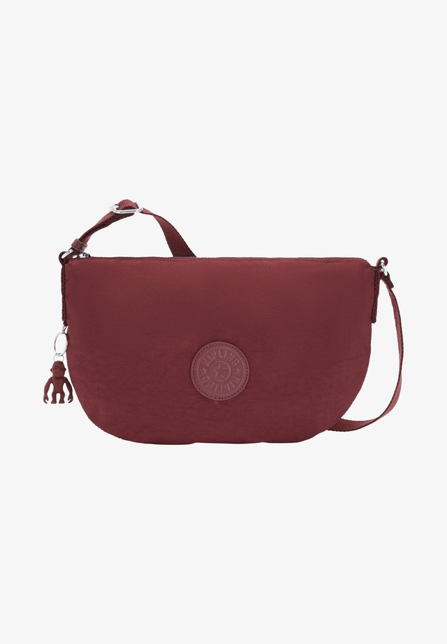 EMELIA  - Across body bag - intense maroon