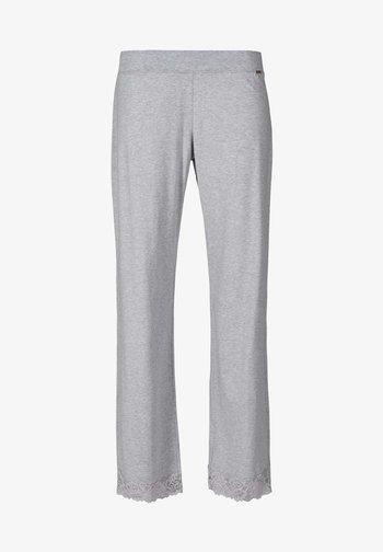 DAMEN HOSE LANG - Pyjamabroek - stone grey melange