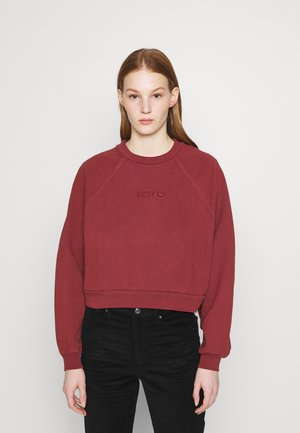 VINTAGE CREW - Sweatshirt - madder brown