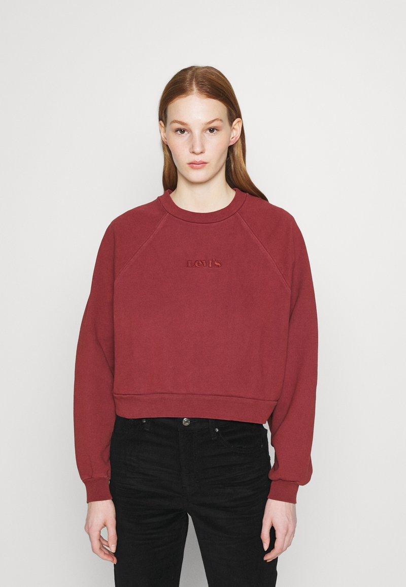 Levi's® - VINTAGE CREW - Sweatshirt - madder brown