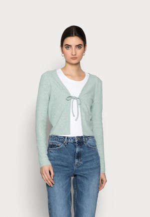 ONLNELLA CARDIGAN  - Cardigan - chinois green