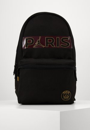 PARIS DAYPACK - Rucksack - black/bordeaux