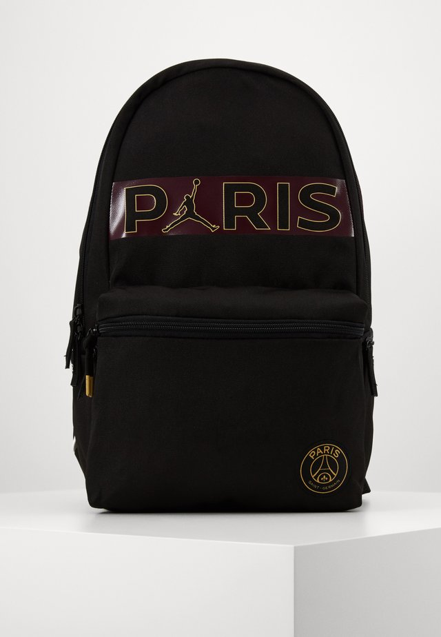 PARIS DAYPACK - Ryggsekk - black/bordeaux
