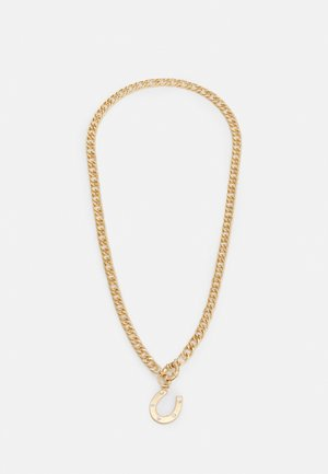 HORSESHOE PENDANT NECKALCE UNISEX - Necklace - gold-coloured