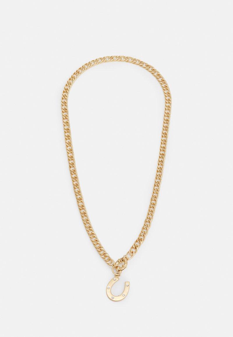 Uncommon Souls - HORSESHOE PENDANT NECKALCE UNISEX - Necklace - gold-coloured