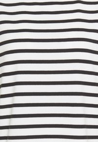 kate spade new york - STRIPE PUFF SLEEVE TEE - Print T-shirt - cream - 2