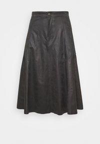 DRYKORN - OCTARIA - A-line skirt - black - 0