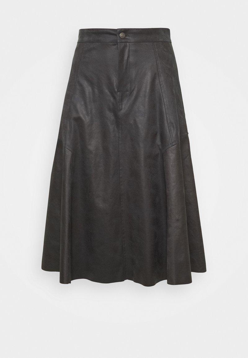 DRYKORN - OCTARIA - A-line skirt - black