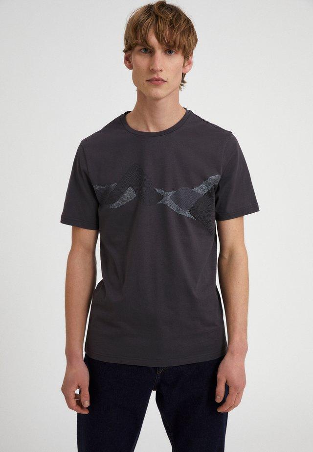 JAAMES DOT MOUNTAINS - T-shirt print - acid black
