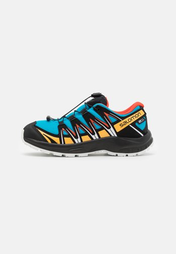 XA PRO 3D CSWP UNISEX - Hiking shoes - hawaiian ocean/cherry to/warm apricot