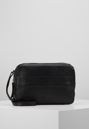 ANOUK DOUBLE ZIP CROSSBODY - Across body bag - black