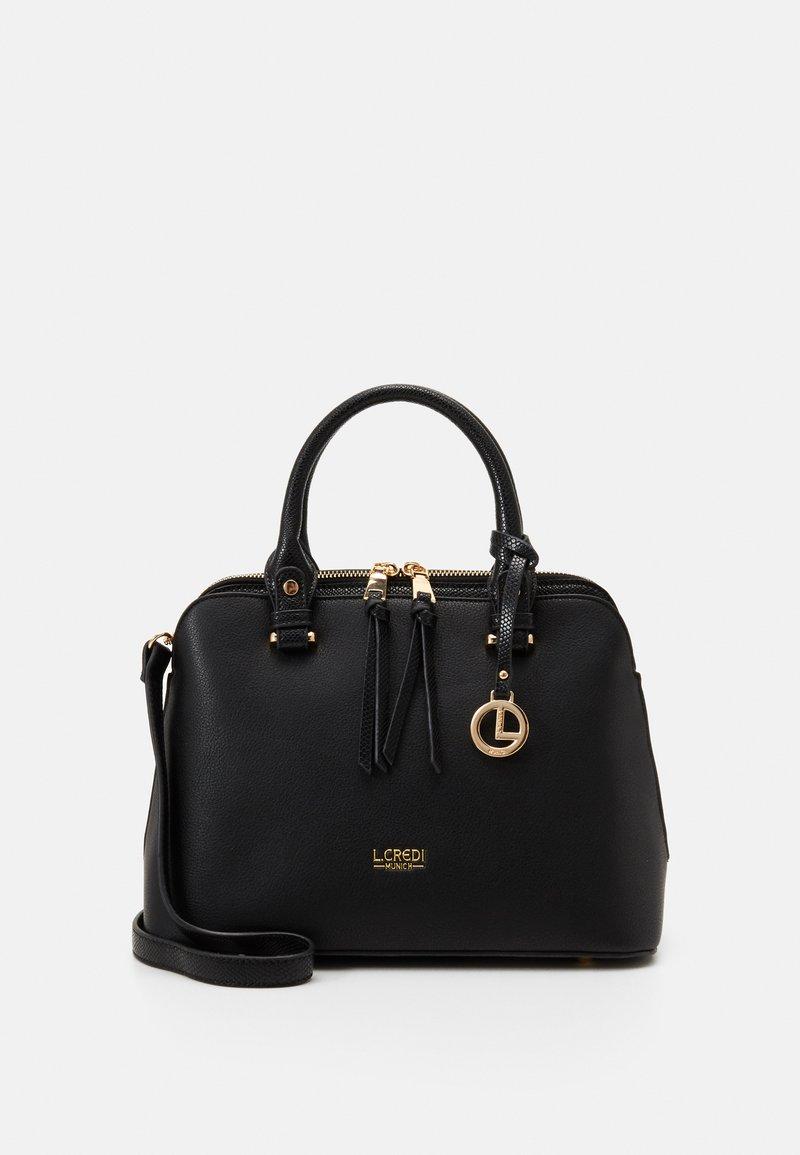L. CREDI - FLORIANA - Handbag - black