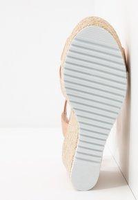Head over Heels by Dune - KATYAA - Sandały na obcasie - rose gold metallic - 6