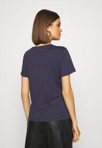 Tommy Jeans - SLIM CNECK - T-shirt basic - blue - 2