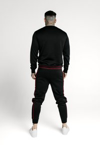 SIKSILK - IMPERIAL CREW NECK SWEATER - Sweatshirt - black/red - 2