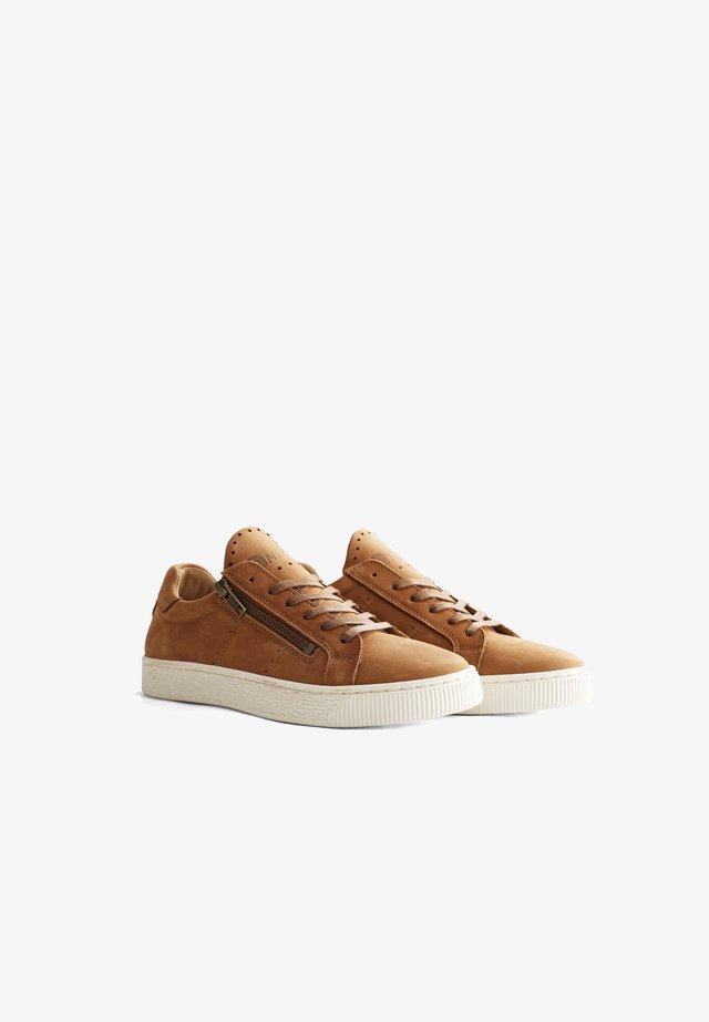 G.LEONI - Sneakers laag - cognac