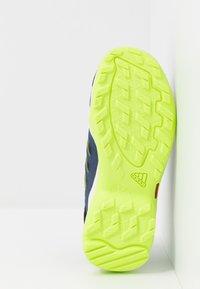 adidas Performance - TERREX HYDROTERRA - Hiking shoes - glow blue/core black/singnal green - 5