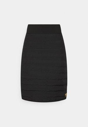 ALASKA - Sports skirt - black