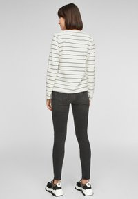s.Oliver - Long sleeved top - off-white stripes - 2