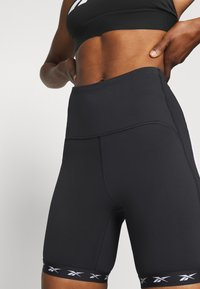 Reebok - BIKE SHORT - Legging - black - 2