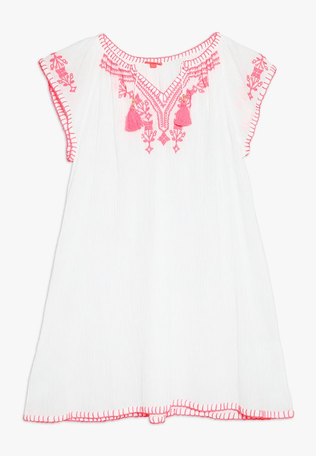 GIRLS CHEESECLOTH DRESS - Vestito estivo - white